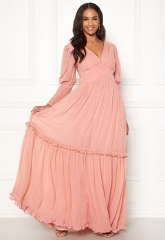 byTiMo Delicate Gown 477 Dusty Pink Bubbleroom.dk