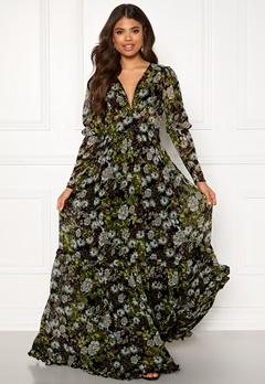 byTiMo Delicate Gown 907 Green Garden Bubbleroom.dk
