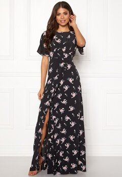 byTiMo Ruffle Wrap Gown 855 Small Bouquet Bubbleroom.dk