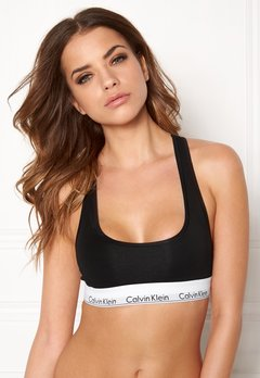 Calvin Klein CK Cotton Bralette 001 Black Bubbleroom.dk