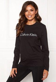 Calvin Klein CK L/S Crew Neck Black Bubbleroom.dk