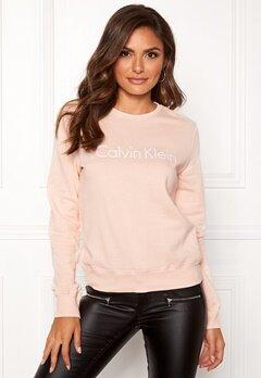 Calvin Klein CK L/S Sweatshirt Gold Blush Bubbleroom.dk