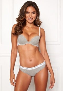 Calvin Klein CK One Cotton T-shirt Bra Grey Heather Bubbleroom.dk
