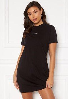 Calvin Klein Jeans Branding T-Shirt Dress Ck Black Bubbleroom.dk