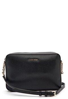 Calvin Klein Jeans Camera Bag Saffiano BAX Ck Black Bubbleroom.dk