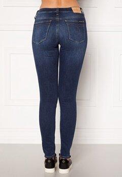 Calvin Klein Jeans CKJ 011 Mid Rise Skinny 1A4 ZZ001 MID BLUE Bubbleroom.dk