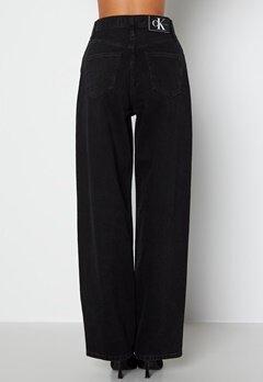 Calvin Klein Jeans Hr Relaxed Jeans 1BY Denim Black bubbleroom.dk