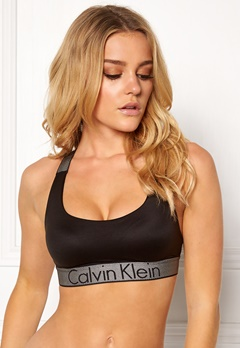 Calvin Klein Lightly Lined Bralette Black Bubbleroom.dk