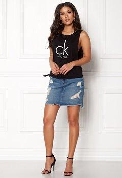 Calvin Klein Side Knot Tank 001 Black Bubbleroom.dk