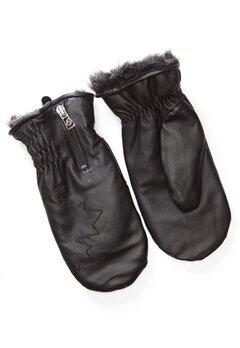Canada Snow Kläppen Thumb Glove Black bubbleroom.dk