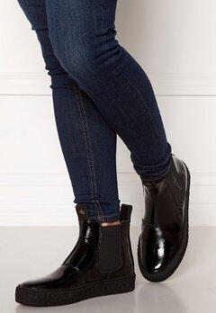 Canada Snow Mount Verm Patent Boots Black Bubbleroom.dk