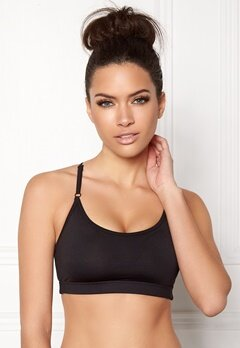 Casall Dashing Sports Bra 901 Black Bubbleroom.dk