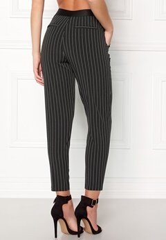 OBJECT Cecilie Striped 7/8 Pant Black Stripes Bubbleroom.dk