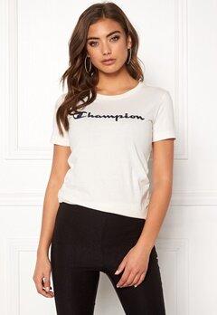 Champion Crewneck T-Shirt Vaporous Gray Bubbleroom.dk