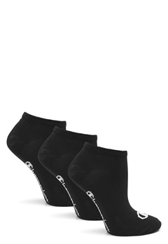 Champion No Show Socks 3-Pack Black Bubbleroom.dk