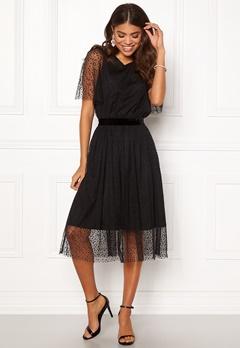 Y.A.S Charlotte SS Midi Dress Black Bubbleroom.dk