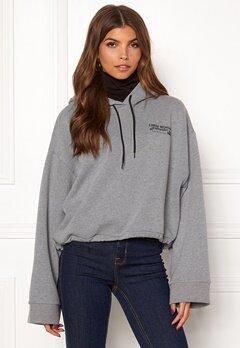 CHEAP MONDAY Expose Hood Jacket Grey Bubbleroom.dk