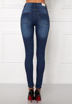 CHEAP MONDAY High Spray Jeans Dark Blue Bubbleroom.dk