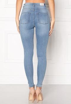 CHEAP MONDAY High Spray Jeans Lt Blue Bubbleroom.dk