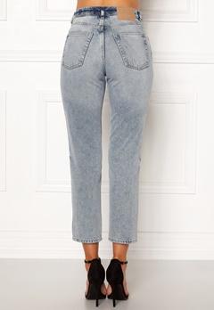 CHEAP MONDAY Revive Jeans Pixel Blue Bubbleroom.dk