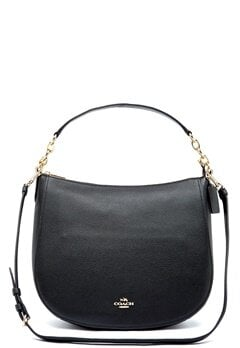 COACH Chelsey Leather Bag LIBLK Black Bubbleroom.dk