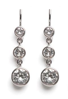 Dyrberg/Kern Chia Earrings Crystal Bubbleroom.dk