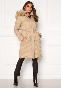Chiara Forthi Adelfia Padded Jacket Camel Bubbleroom.dk