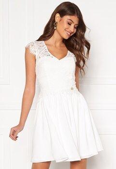 Chiara Forthi Amante lace dress White Bubbleroom.dk