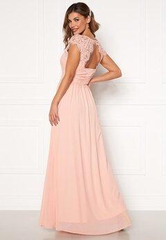 Chiara Forthi Amante lace Gown Apricote Bubbleroom.dk