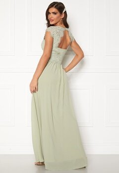 Chiara Forthi Amante lace Gown Light green Bubbleroom.dk