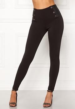 Chiara Forthi Angelo trousers Black Bubbleroom.dk