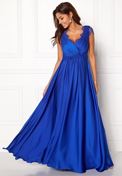 Chiara Forthi Annina Gown Blue Bubbleroom.dk