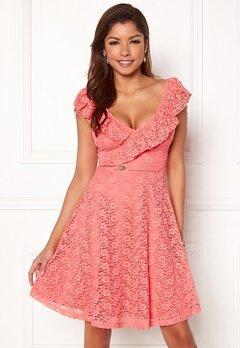 Chiara Forthi Ardiana Dress Coral pink Bubbleroom.dk