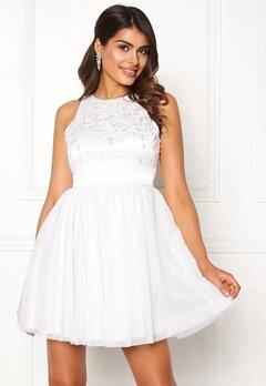 Chiara Forthi Arielle tulle dress White Bubbleroom.dk
