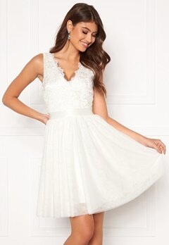 Chiara Forthi Audrey tulle dress White Bubbleroom.dk