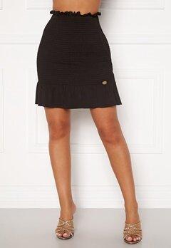 Chiara Forthi Bea smock skirt Black Bubbleroom.dk