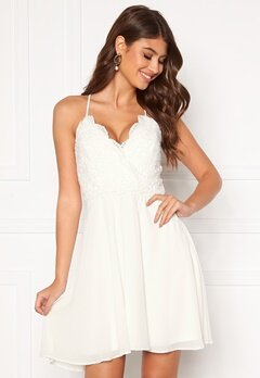 Chiara Forthi Bella dress White Bubbleroom.dk