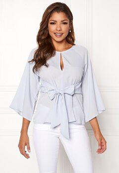 Chiara Forthi Bellora top Light blue Bubbleroom.dk