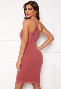 Chiara Forthi Bexy lace dress Dusty pink Bubbleroom.dk