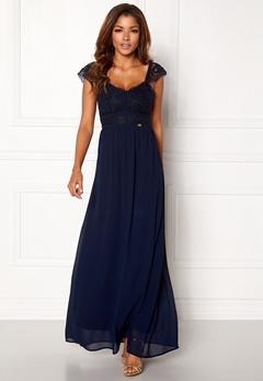 Chiara Forthi Brianna Gown Dark blue Bubbleroom.dk