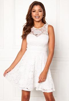 Chiara Forthi Brigitte dress White Bubbleroom.dk