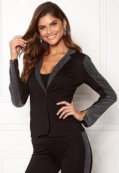 Chiara Forthi Brillante suit jacket Black / Glitter Bubbleroom.dk