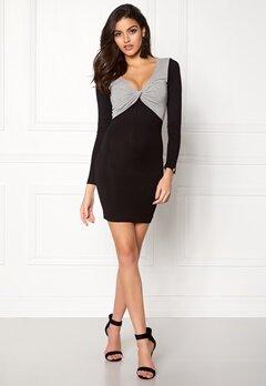 Chiara Forthi Calandra Dress Black / Grey melange Bubbleroom.dk