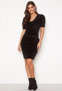 Chiara Forthi Cara furry skirt  Black Bubbleroom.dk
