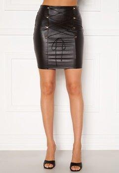 Chiara Forthi Cardi lace up skirt Black Bubbleroom.dk