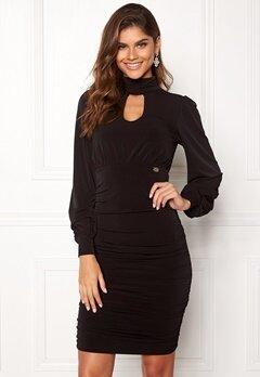 Chiara Forthi Carmen dress Black Bubbleroom.dk