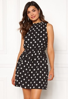 Chiara Forthi Caruso dress Dotted / Black Bubbleroom.dk
