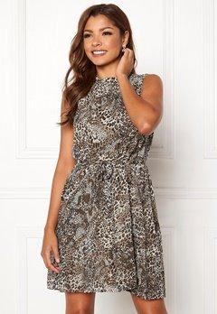 Chiara Forthi Caruso dress Leopard Bubbleroom.dk