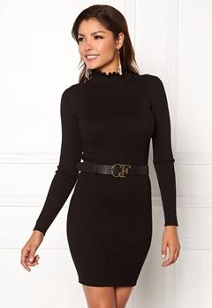 Chiara Forthi Cecile knitted dress Black Bubbleroom.dk