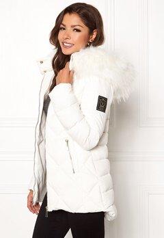 Chiara Forthi Cervina Down Jacket Offwhite Bubbleroom.dk